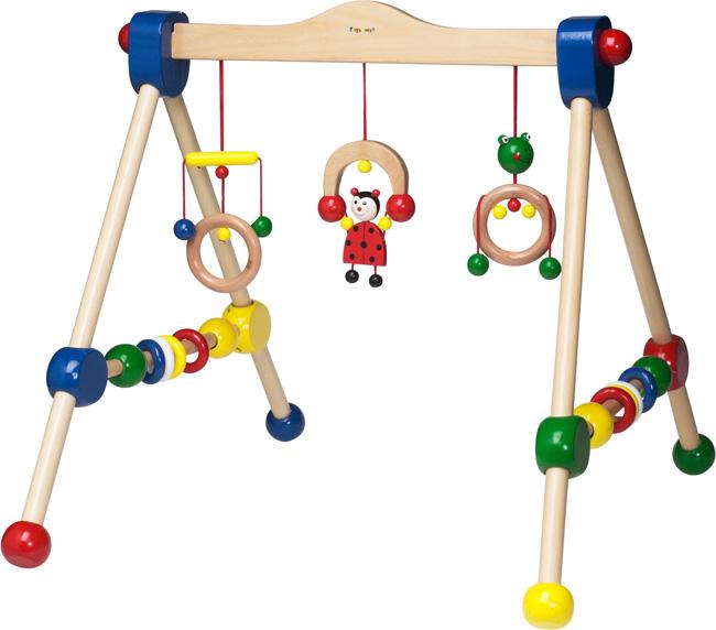 Dětská dřevěná hrazdička