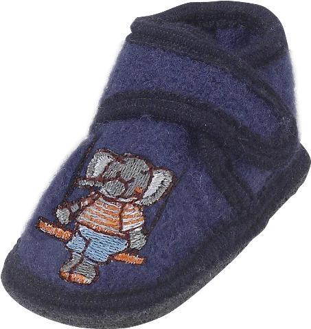 Teplé vlněné bačkory - Slon