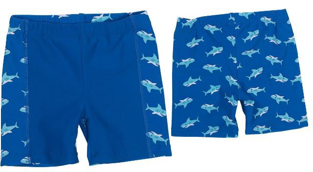 Dětské plavky - kraťasy - žralok
